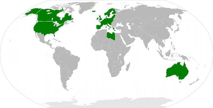 Der Westen und Libyen