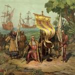 Kolumbus erreicht die neue Welt