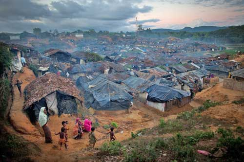 Kutupulung refugee camp in Bangladesh