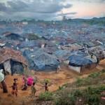 Flüchtlingslager in Kutupulung Bangladesh