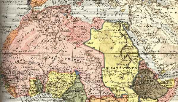Französisch Westafrika ohne Binnengrenzen