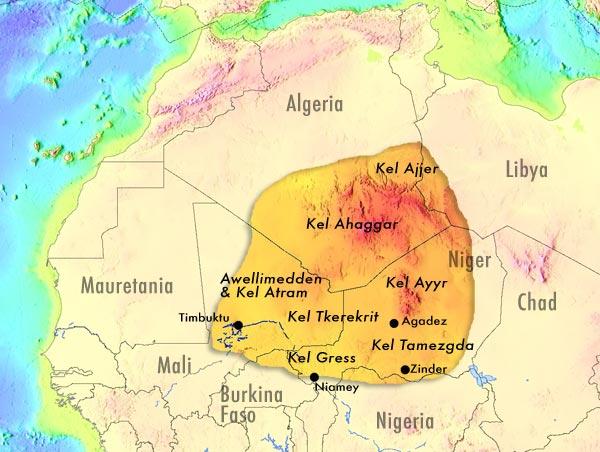 Konföderationen der Tuareg