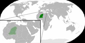 Siedlungsgebiet der Tuareg